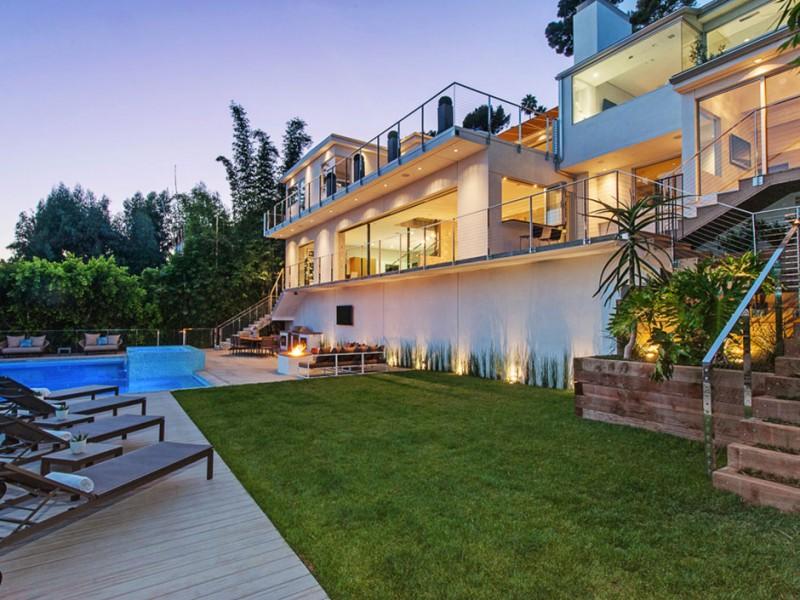 Casa Em Los Angeles Com Arquitetura Sofisticada E Elegante