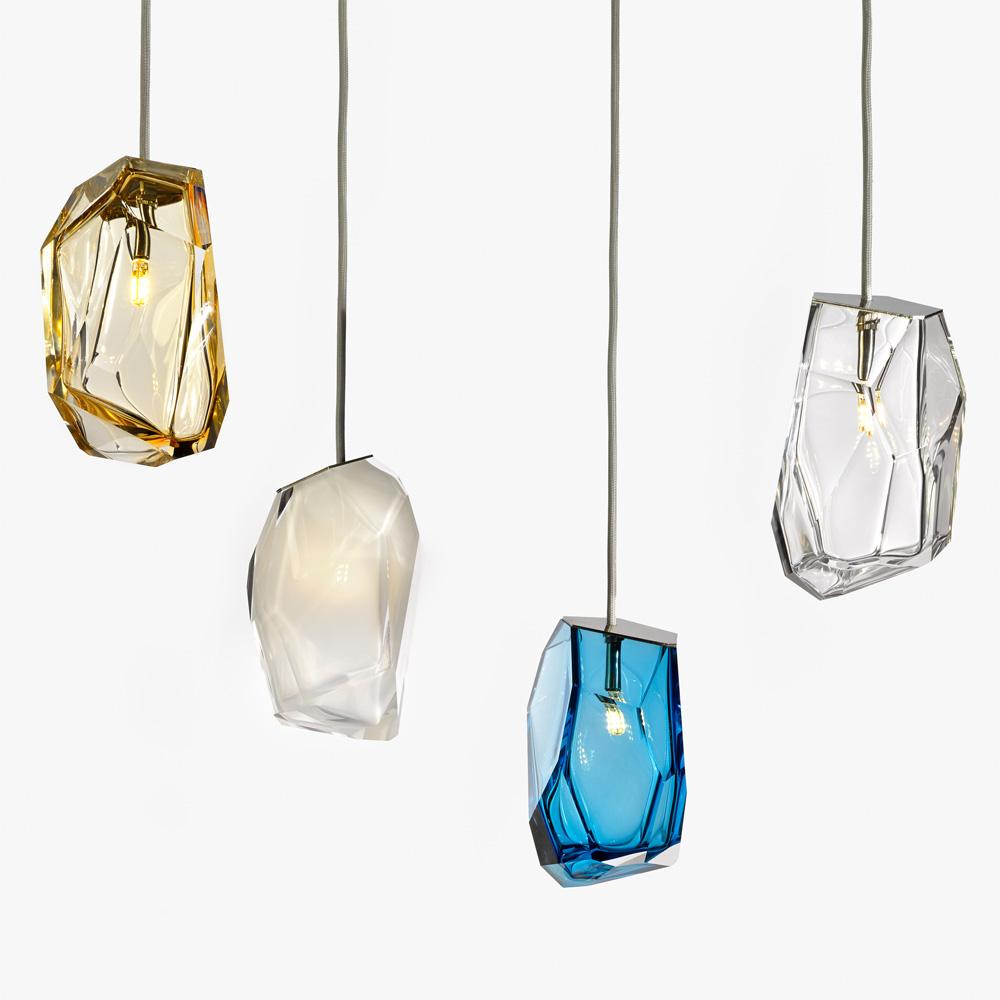 Luminaria Pendente Vidro Espelhado Lorrels Com