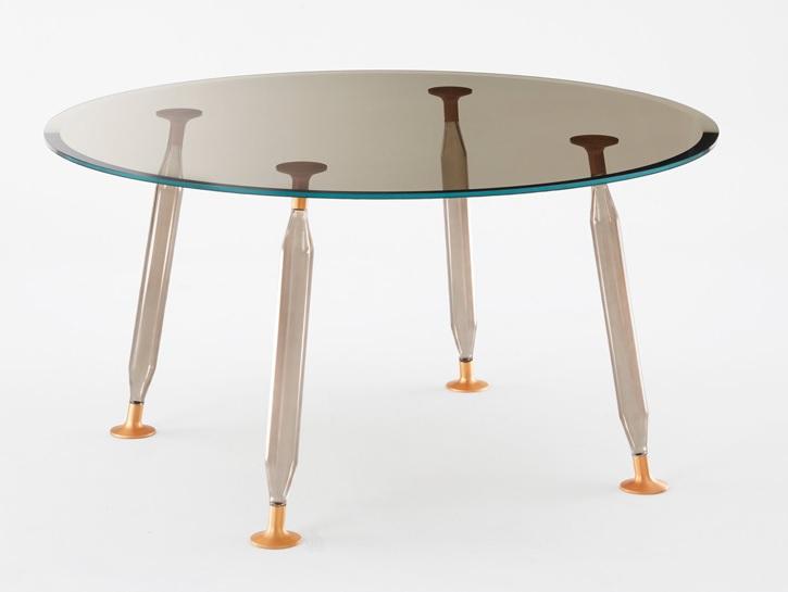 moderna-mesa-redonda-com-pe-de-vidro