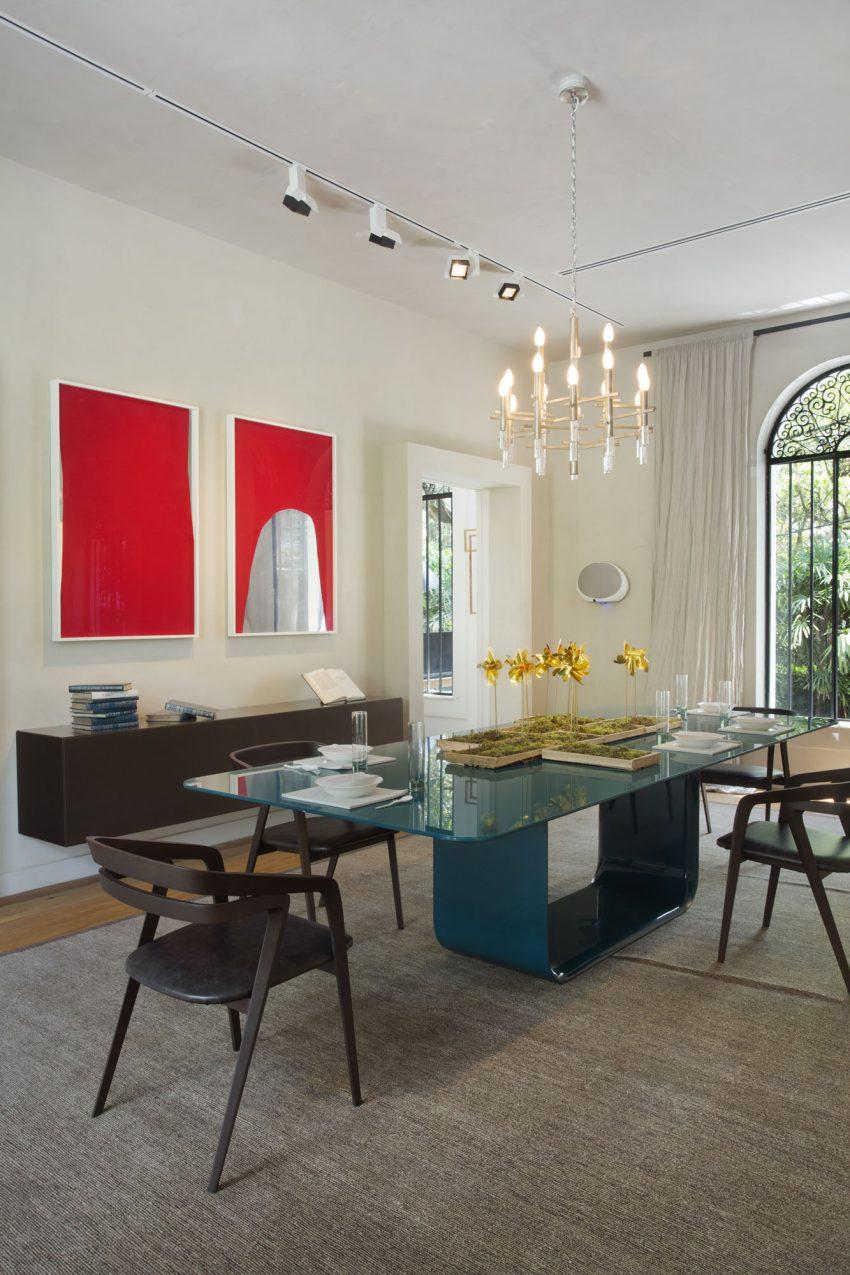 mesa-de-jantar-vidro-pintado-azul