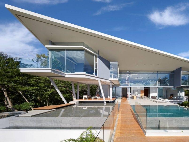 telhado-inclinado-casa-em-peninsula-papagayo-guanacaste