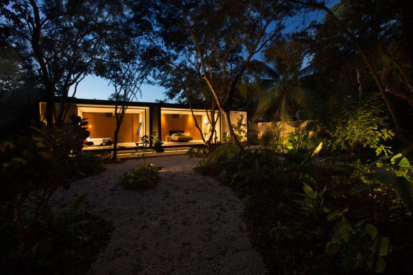 Projeto de Suíte Integrada ao Jardim por FGO Arquitetura