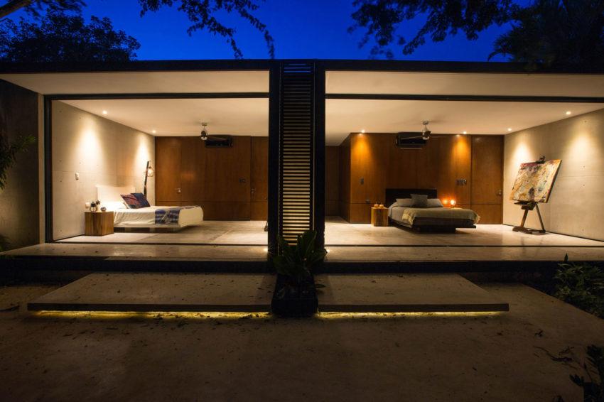 Projeto de Suítes Integradas ao Jardim por FGO Arquitetura