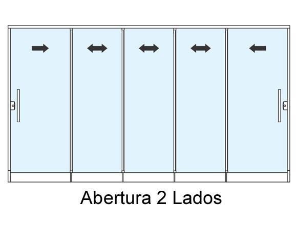 sistema-roll-door-cinco-portas-de-correr