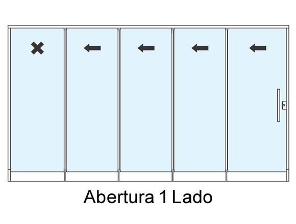 sistema-roll-door-quatro-portas-de-correr-e-um -fixo