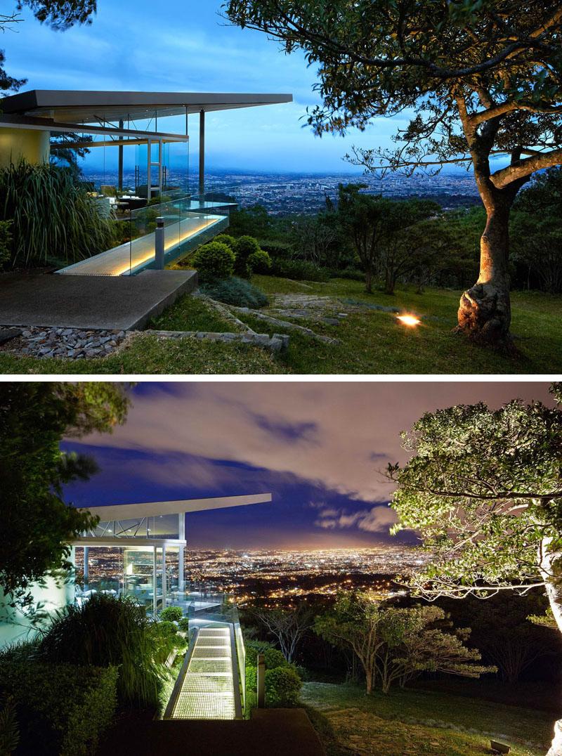 paisagismo-arvore-ficus-iluminada-em-san-jose-costa-rica