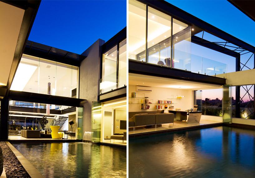 projeto-residencial-em-vidro-e-vigas-de-aco-preto-midrand-africa-do-sul