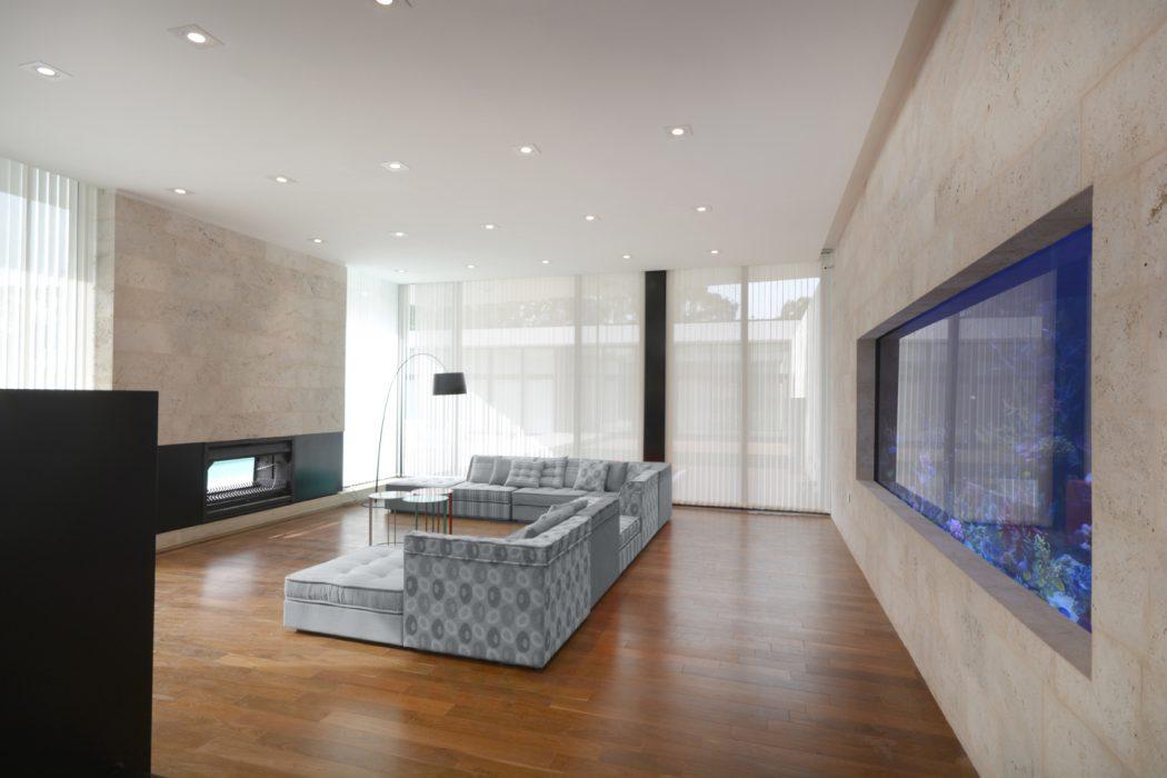 sala-decorada-aquario-casa-em-ituzaingo-buenos-aires-por-vanguarda-arquitetos